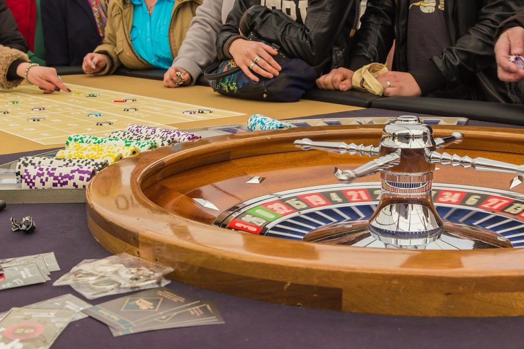 the d casino table games